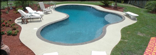 Price to build cost to build in ground swimming pool for Average square footage of a swimming pool